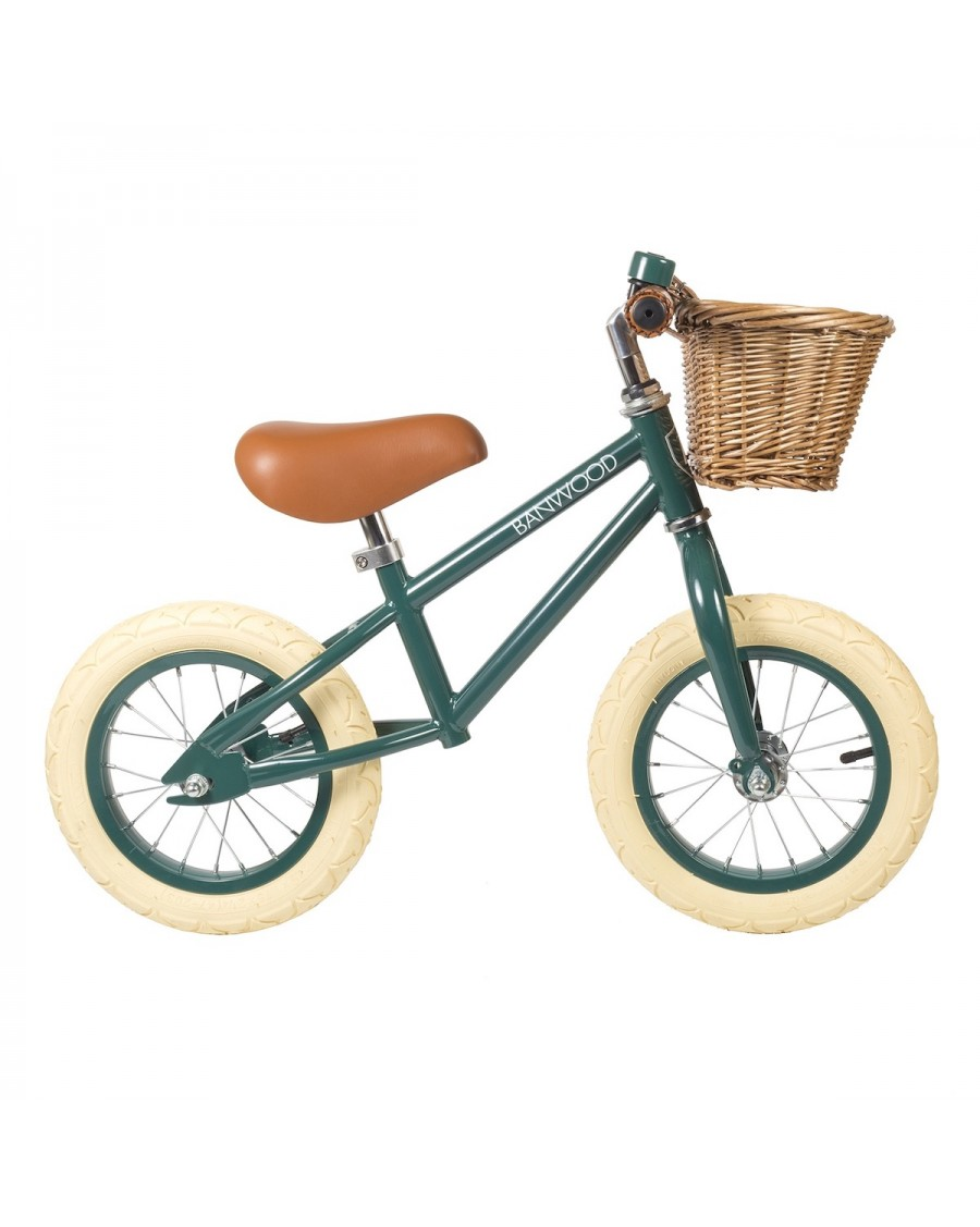 Balance Bike First Go! - Green - banwood- mylowonders