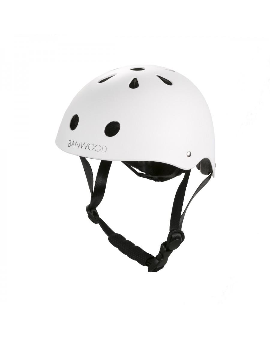 Classic Helmet - Matte White - banwood - mylowonders