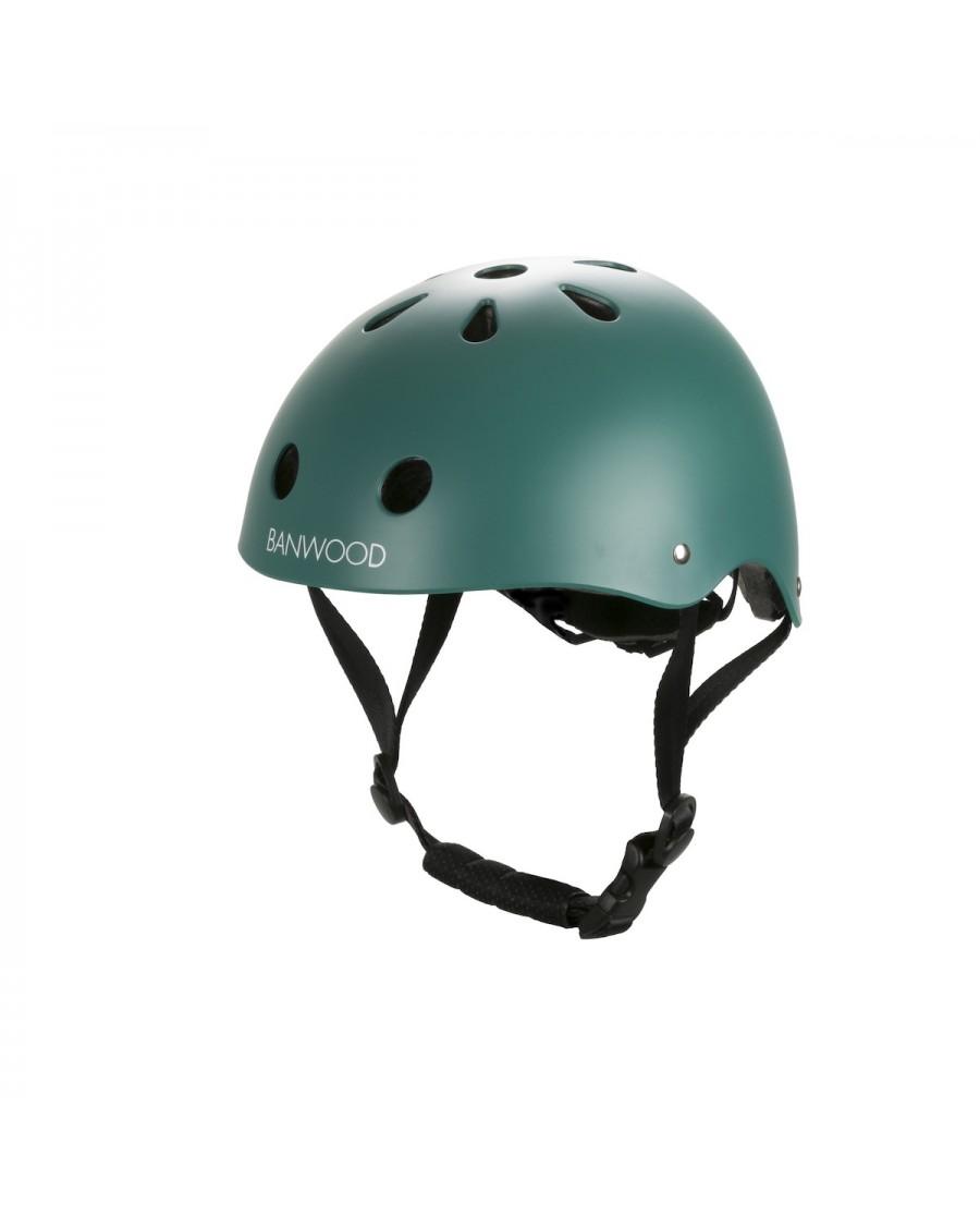 Classic Helmet - Matte Green - banwood - mylowonders