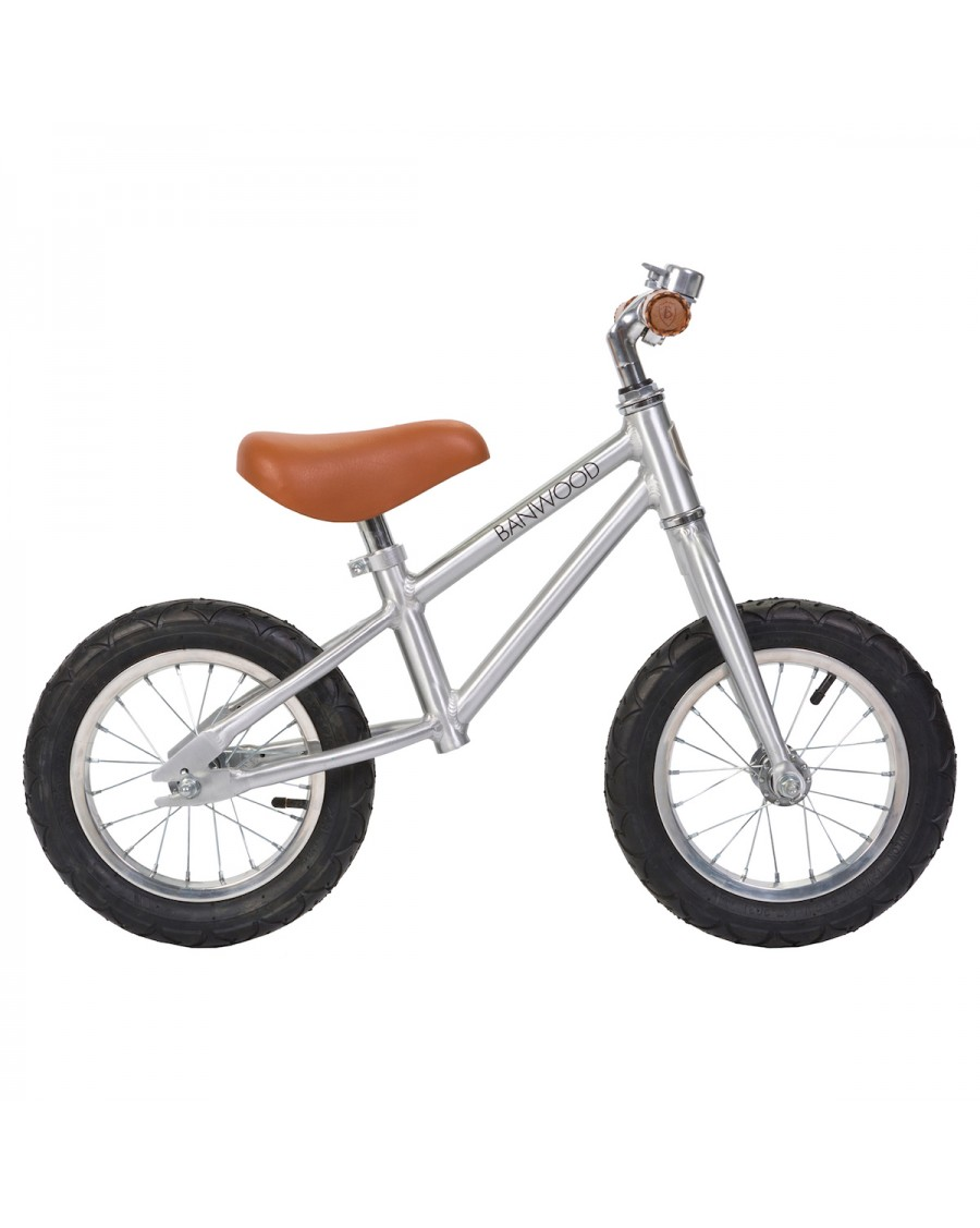 Balance Bike First Go! - Chrome - banwood - mylowonders