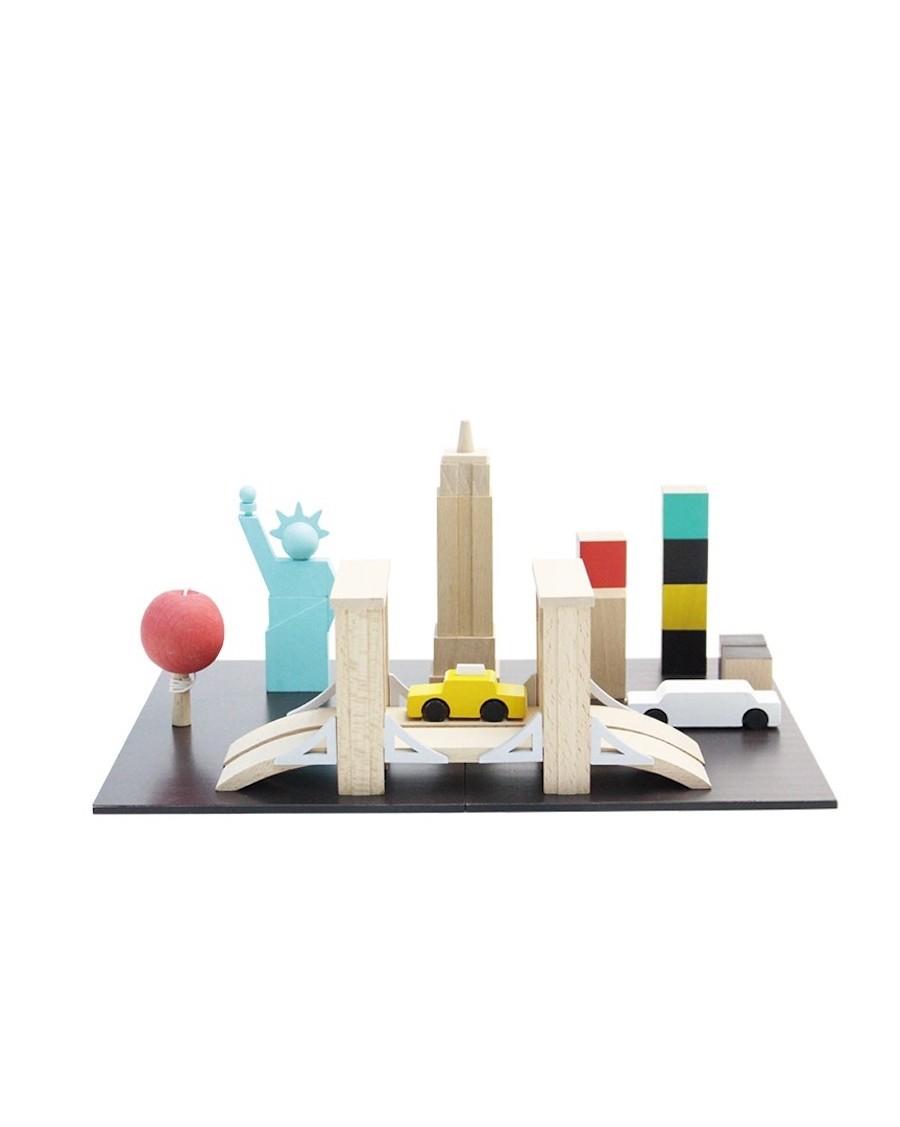 New York - Magnetic Chalkboard | Kukkia | MyloWonders