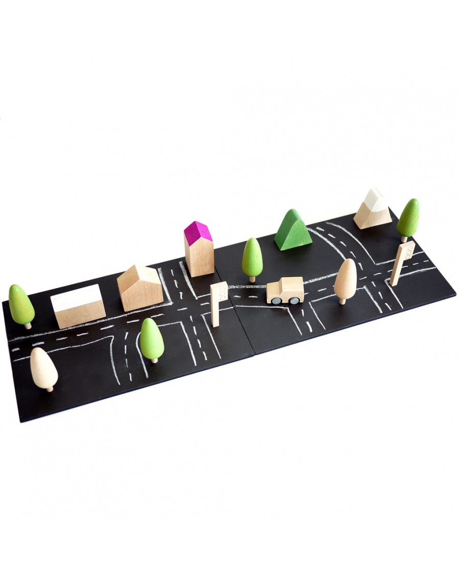 Tiny Town - Magnetic Chalkboards - kukkia - mylowonders