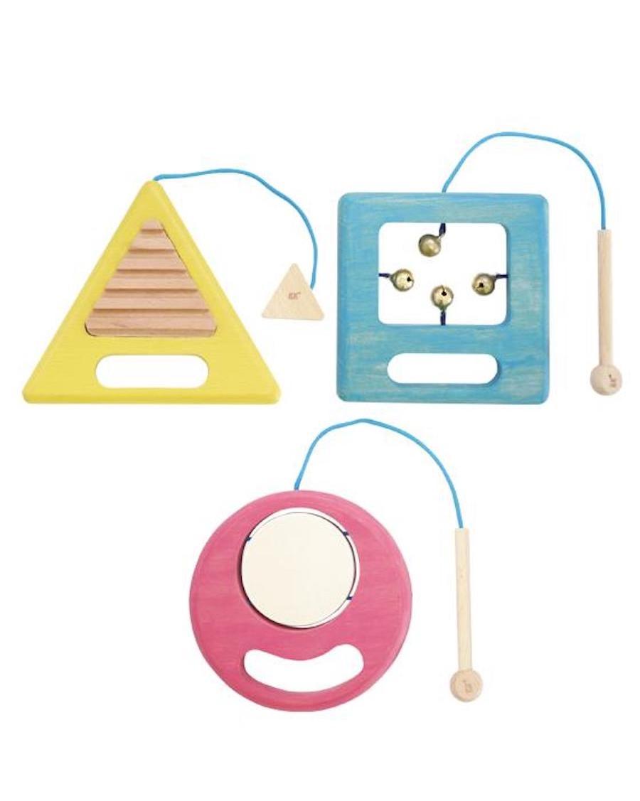 Trio musical - Instruments de musique en bois - kukkia - mylowonders