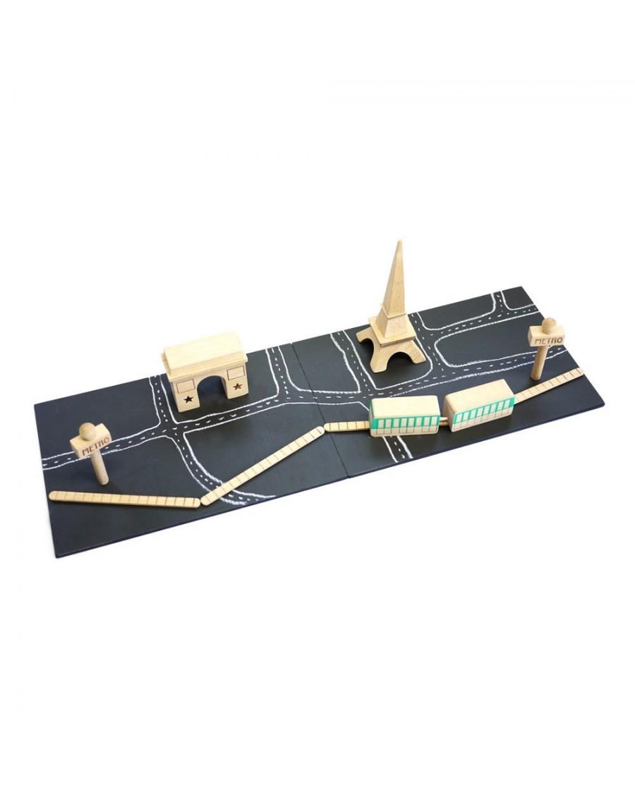 Paris - Magnetic Chalkboards - kukkia - mylowonders