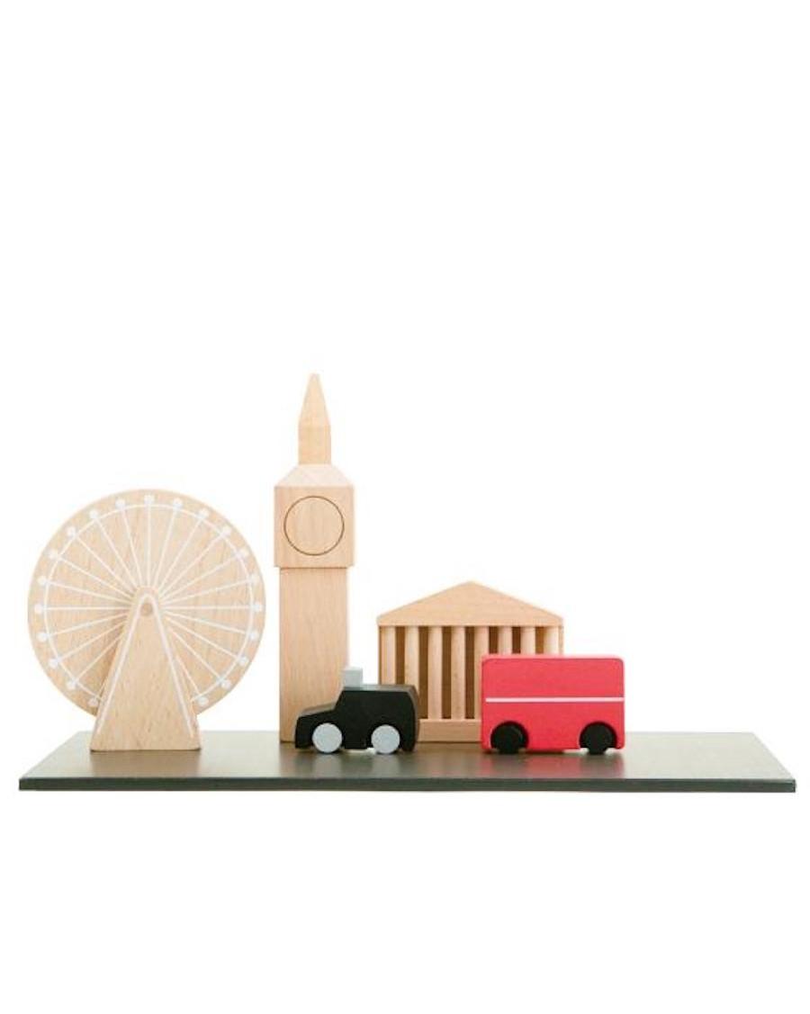Londres - Plateau magnétique - jouet en bois - kukkia - mylowonders