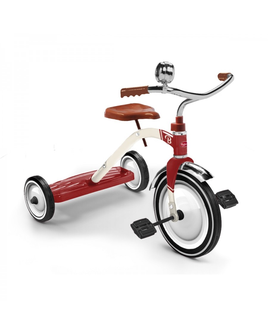 Tricycle Vintage Rouge | Baghera | MyloWonders