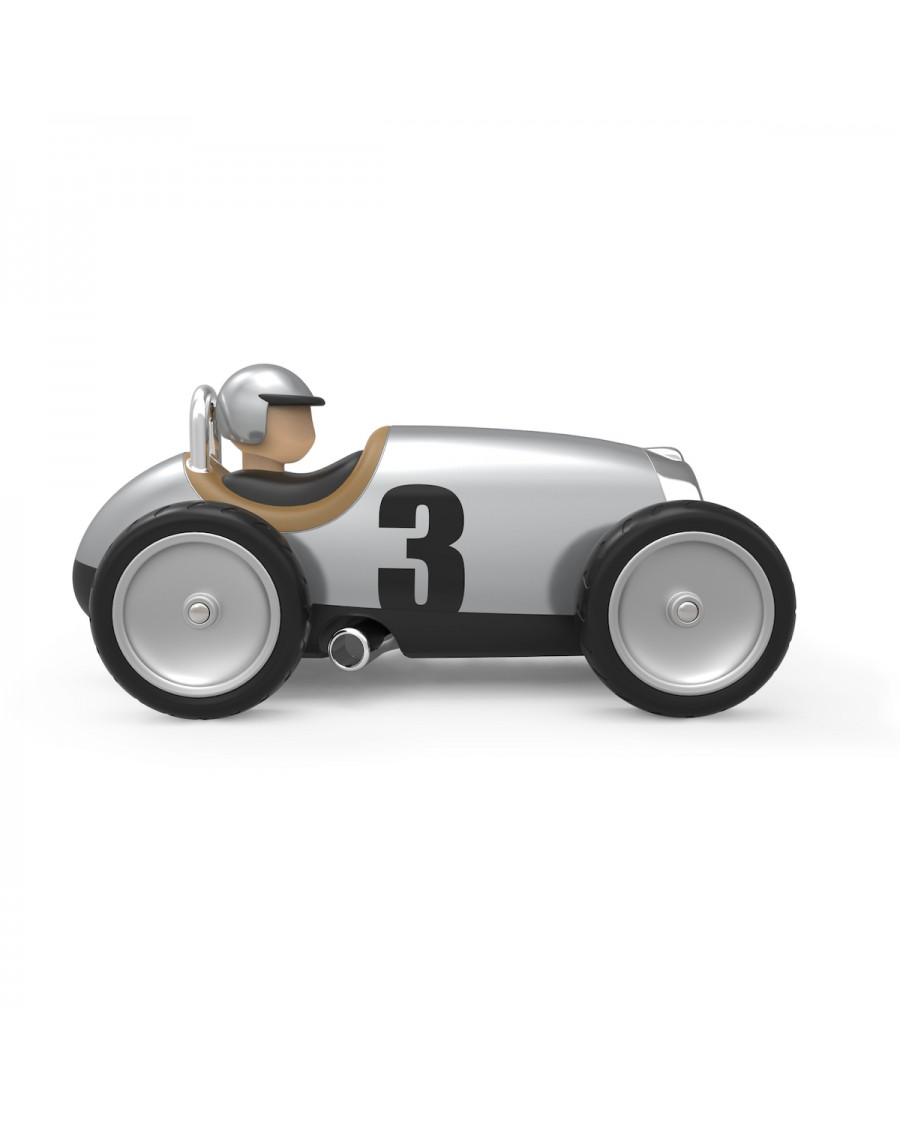 Racing Car Silver | Toy | Baghera | MyloWonders