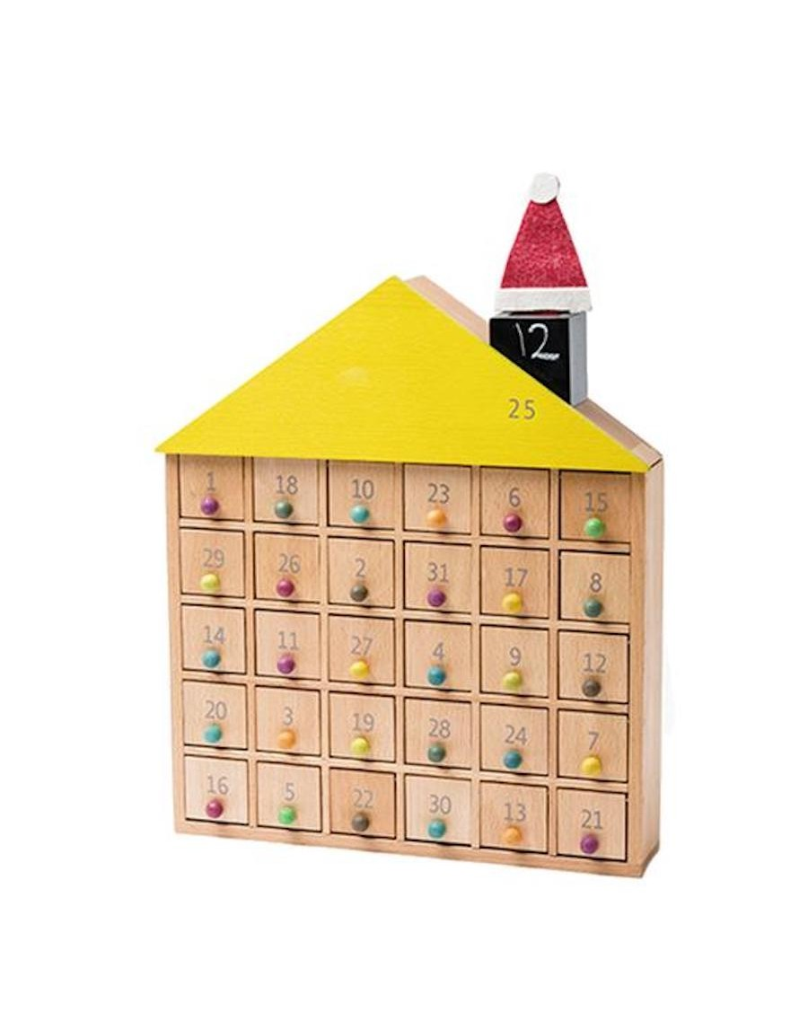 Maison en bois à tiroirs - kukkia - mylowonders