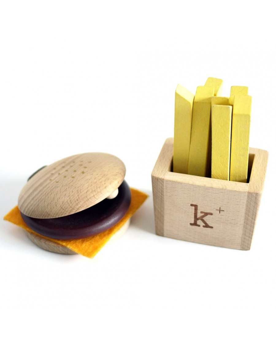 Hamburger Set Instruments - wooden toys - kukkia - mylowonders