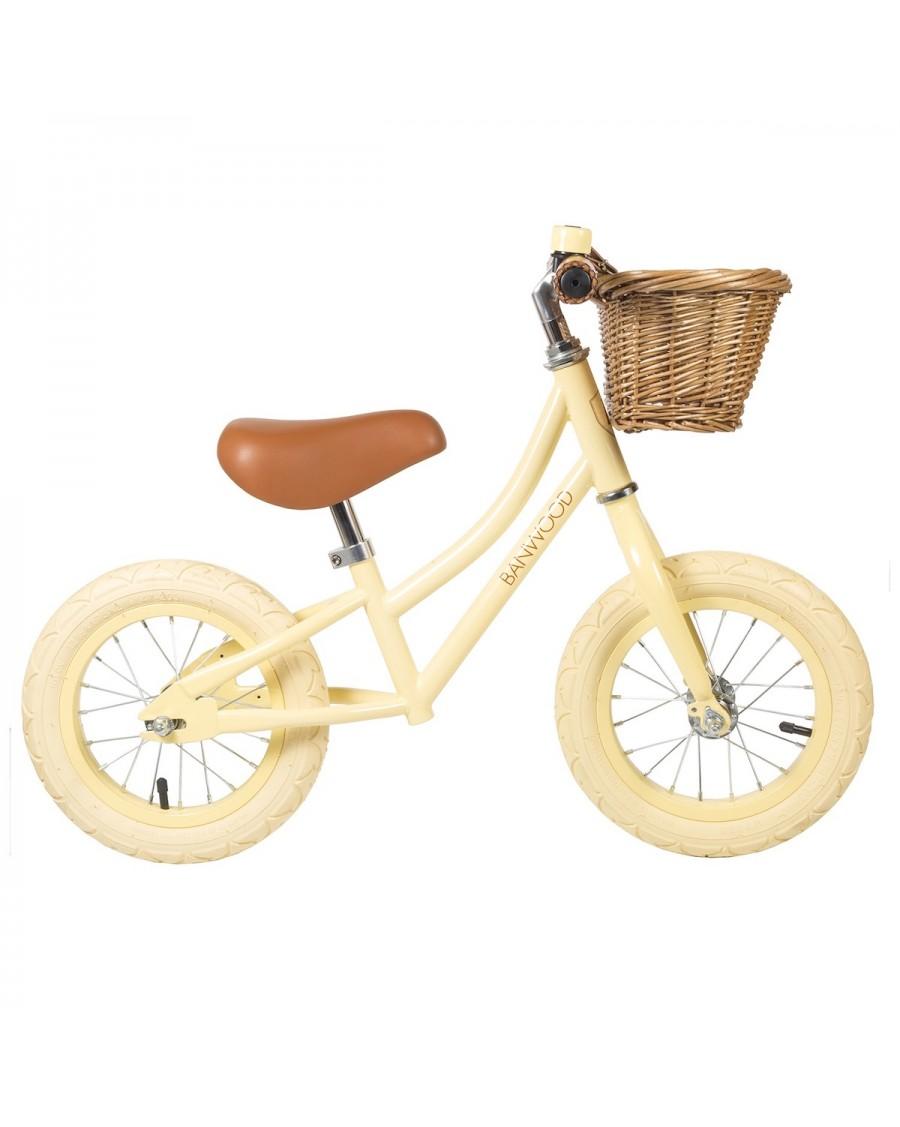 Vélo sans pédales - Draisienne First Go - Vanille - banwood - mylowonders