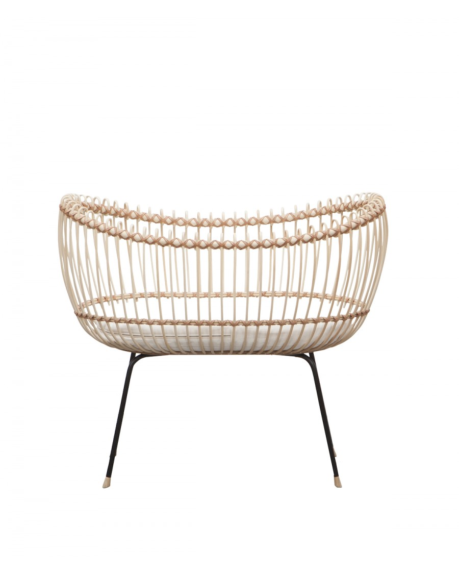Handcrafted Rattan Cot - Lola - Bermbach | MyloWonders