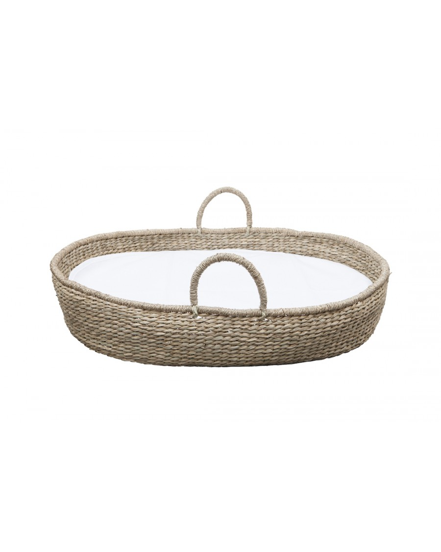 Natural Moses basket - Changing pad Frida - bermbach - mylowonders