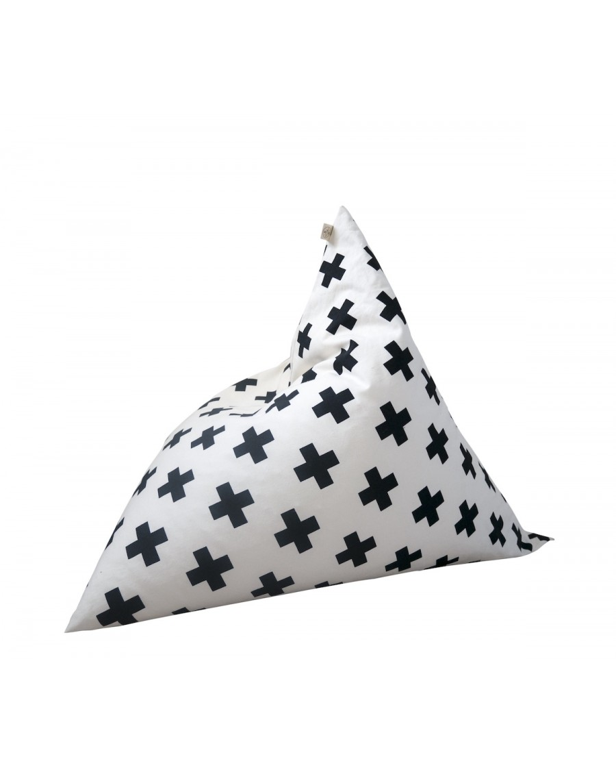 Cross Pyramid Bean Bag - wildfire teepees - mylowonders