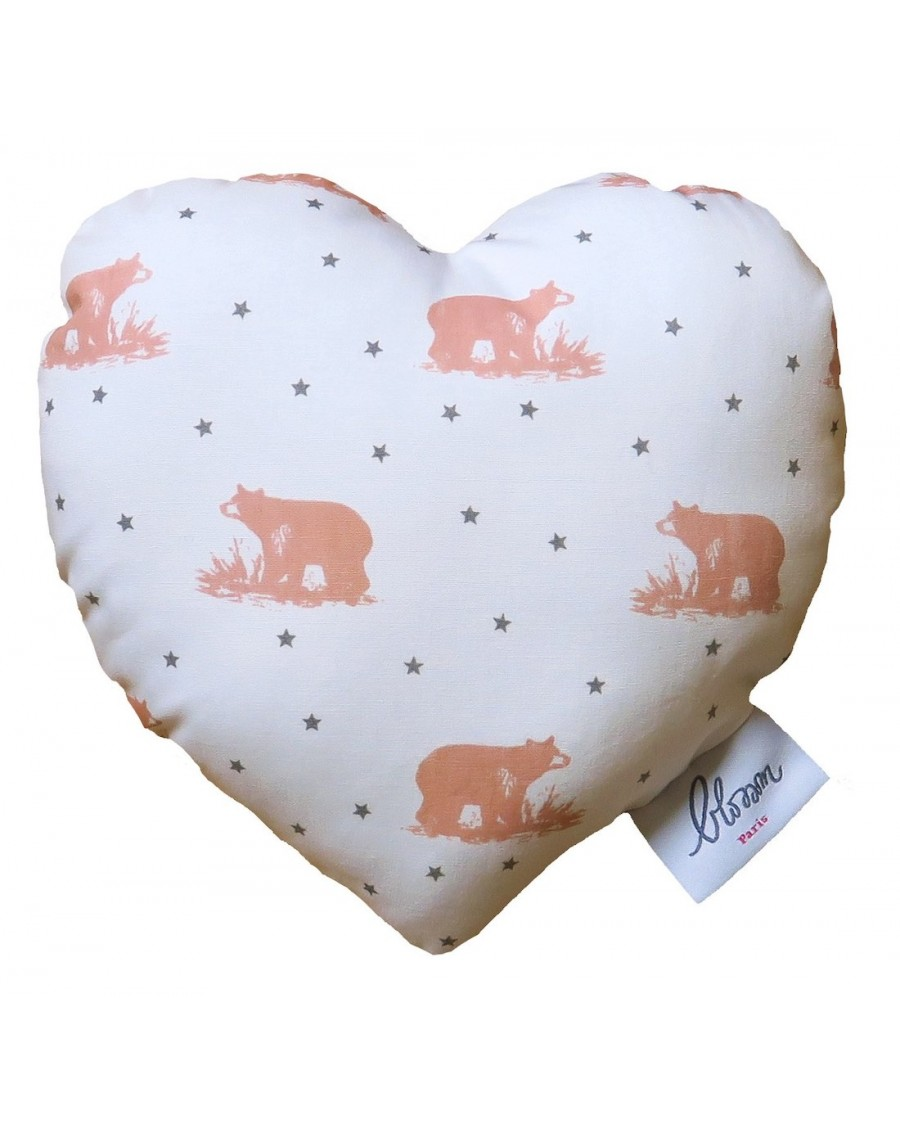 Rattle heart Mishka Blush | Blossom Paris | MyloWonders