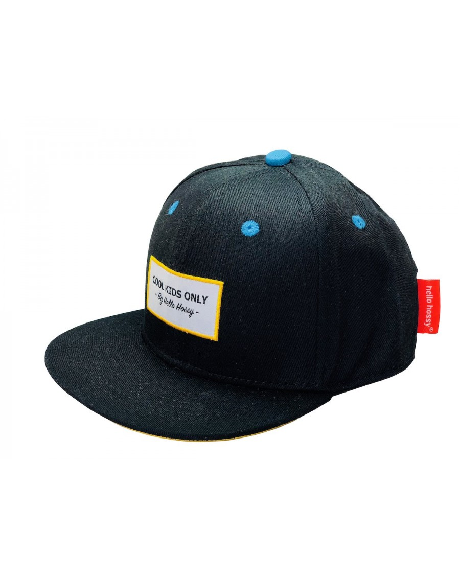 Black Minimalist cap | Hello Hossy | MyloWonders