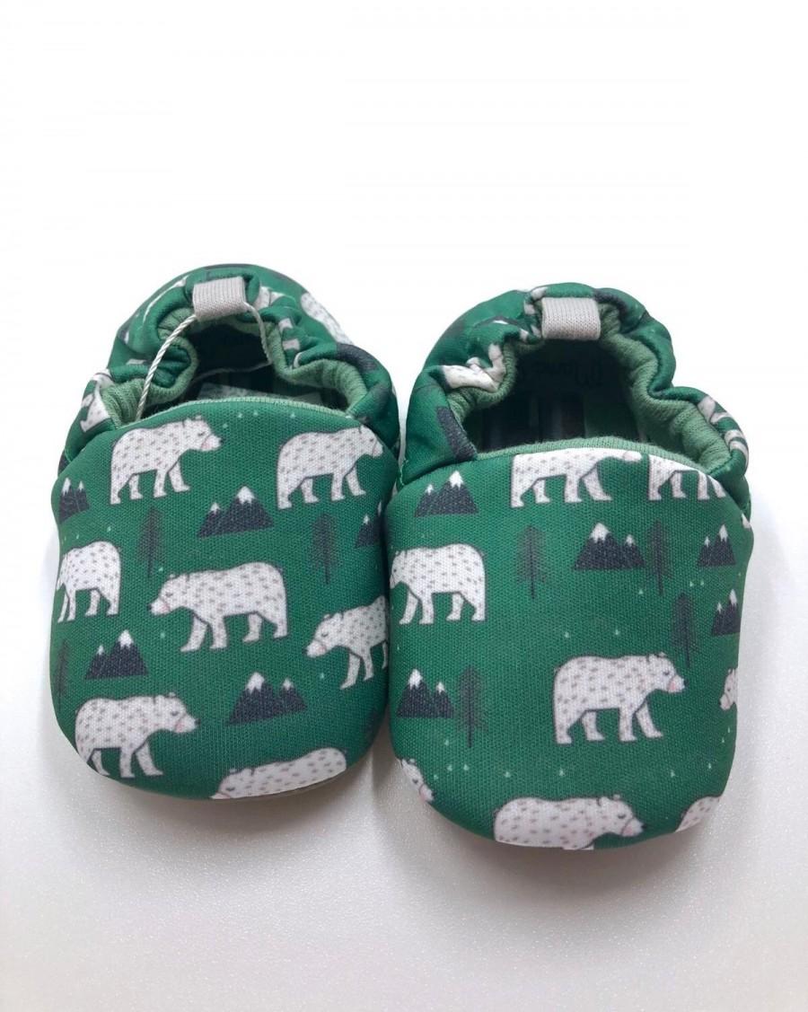 Baby Slippers Bears - mama siesta - mylowonders