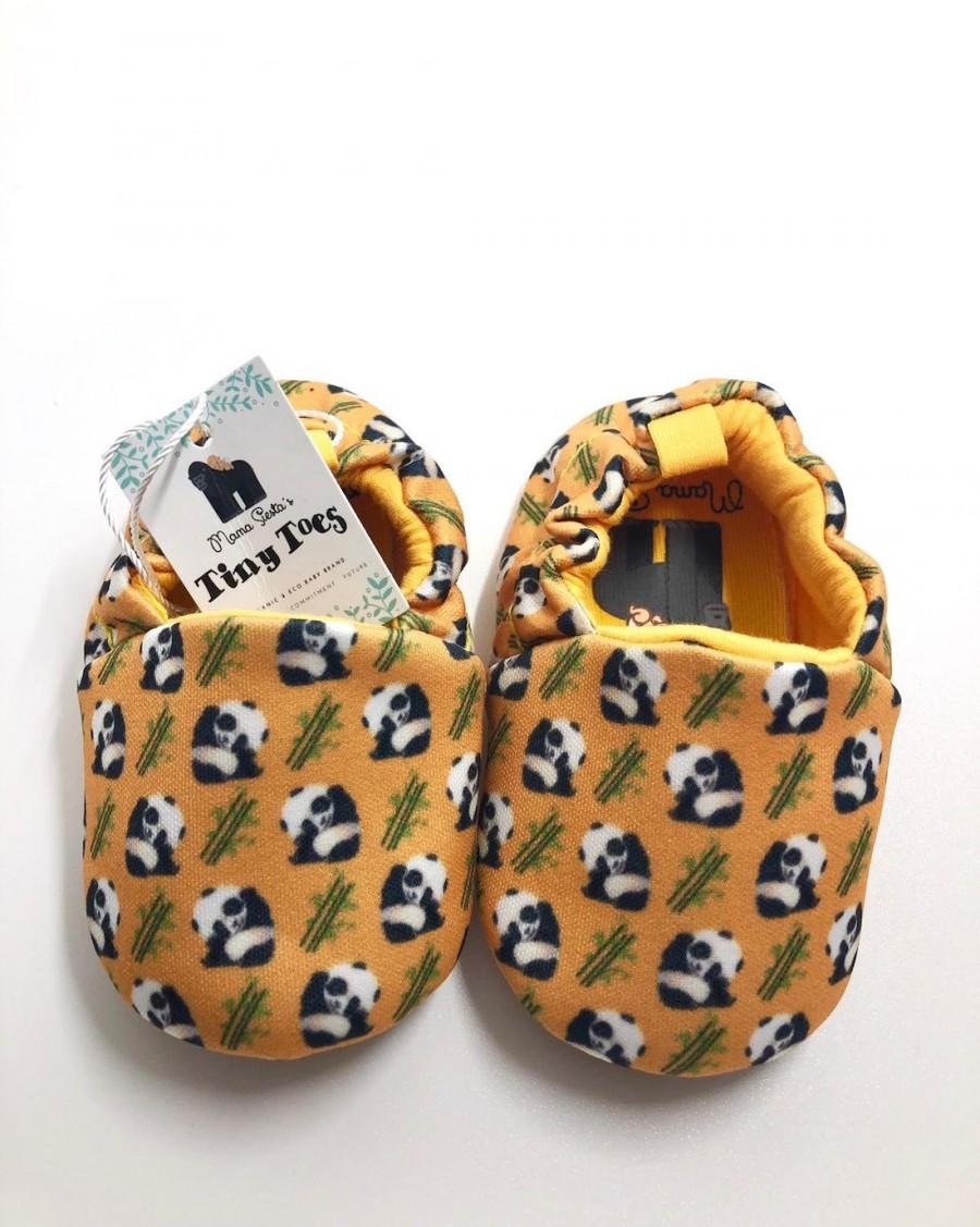 Chaussons bébé Panda - mama siesta - mylowonders