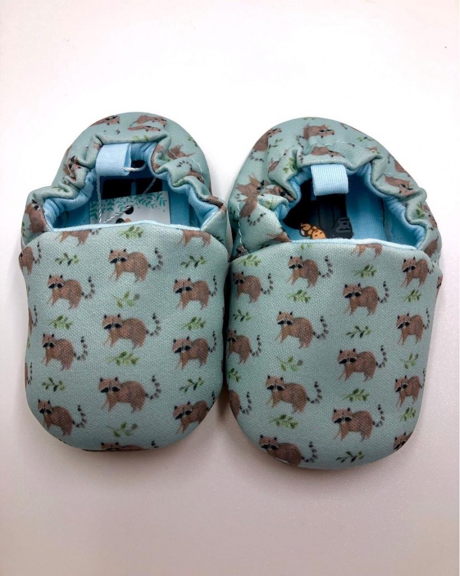 Baby Slippers Racoon - mama siesta - mylowonders