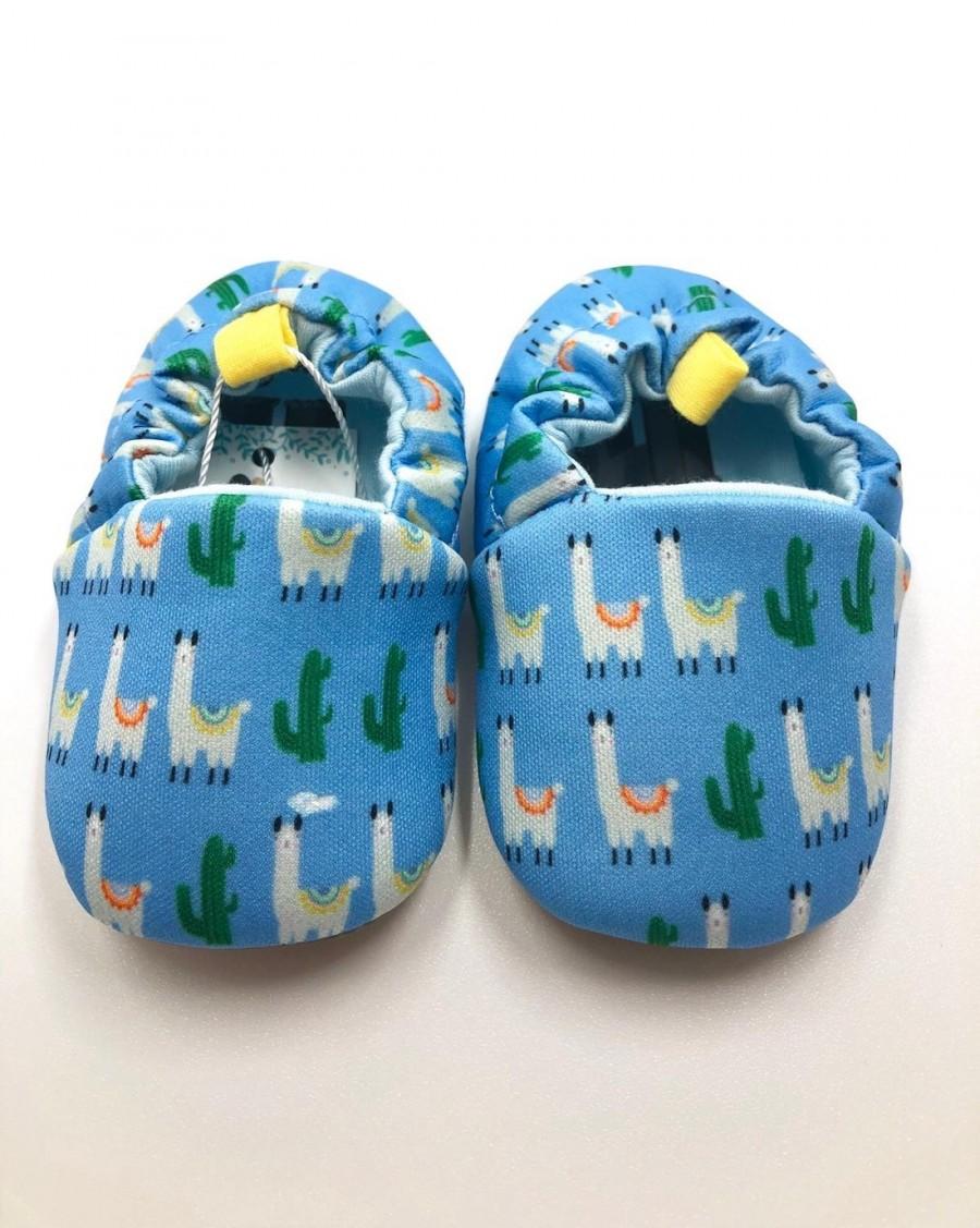 Chaussons bébé Lama - mama siesta - mylowonders