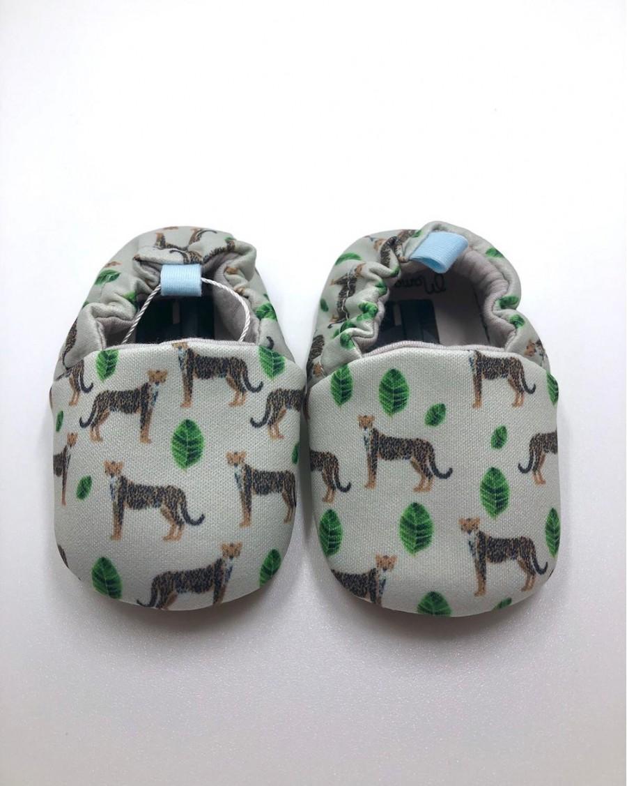Baby Slippers Leopard - mama siesta - mylowonders