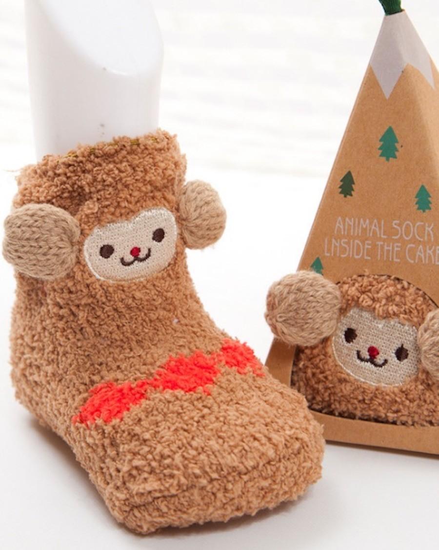 Chaussettes confort créature Paresseux - mama siesta - mylowonders