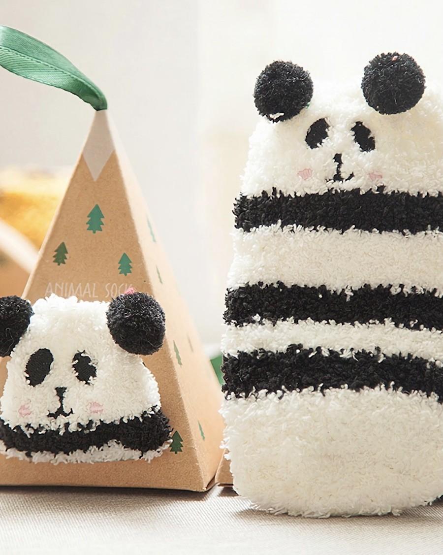 Chaussettes confort créature Panda - mama siesta - mylowonders