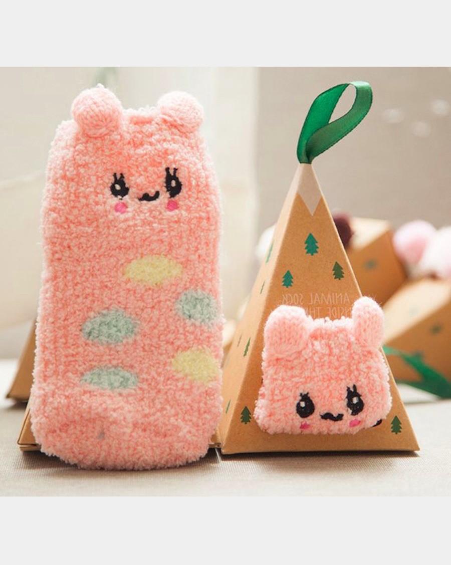 Creature Comfort Socks Pink Bunny - mama siesta - mylowonders