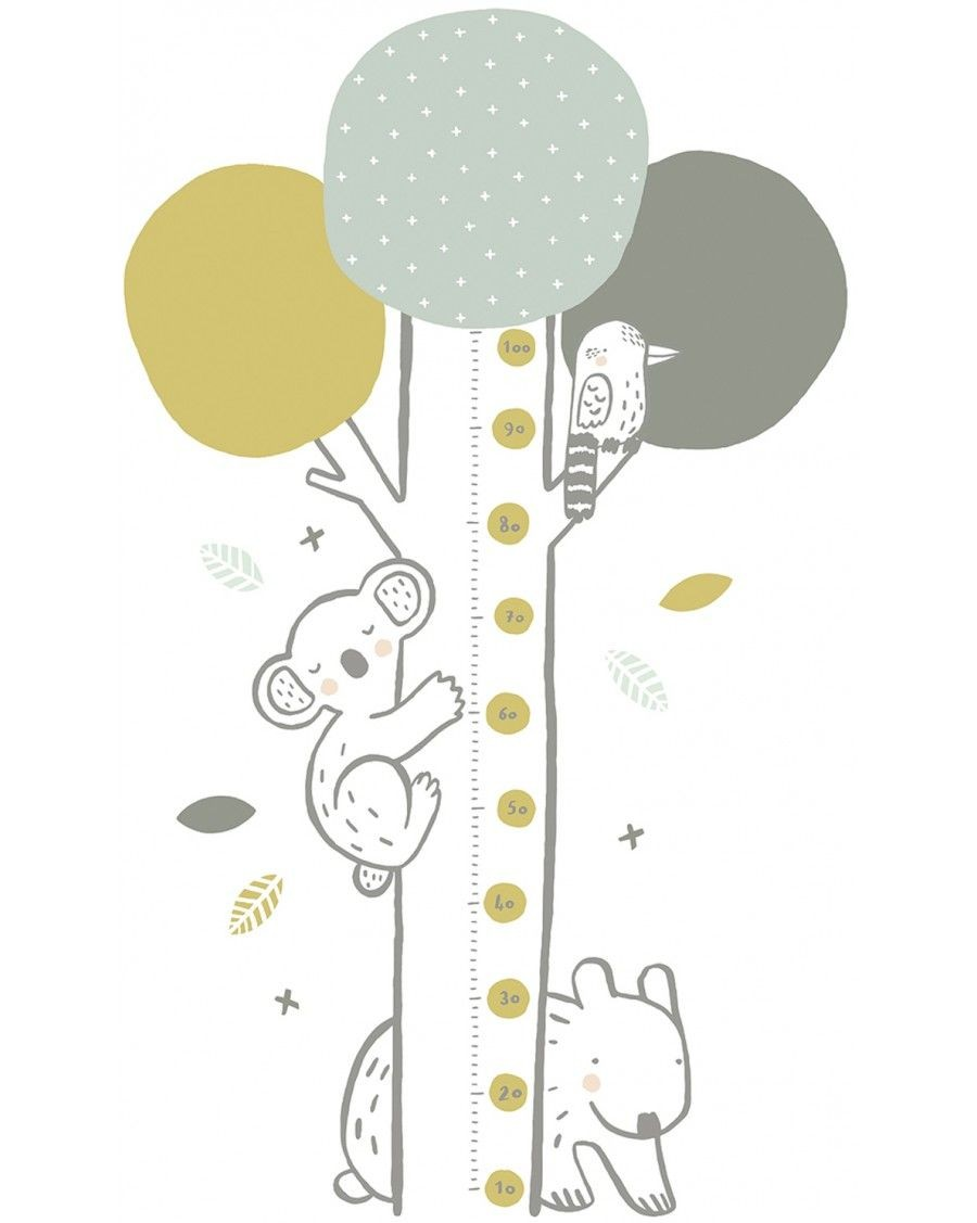 Growth chart - green tree - lilipinso - mylowonders