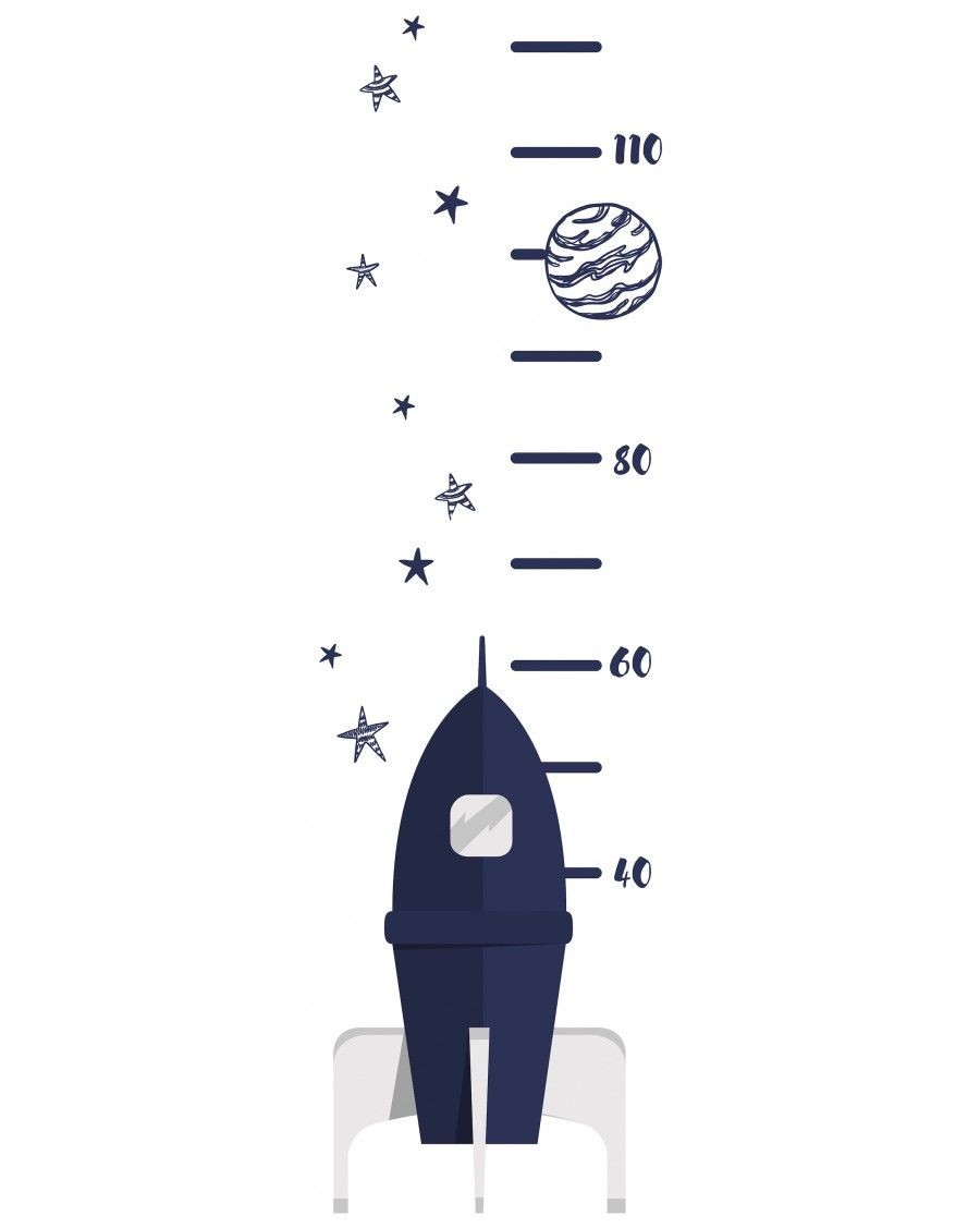 Growth chart - rocket - lilipinso - mylowonders