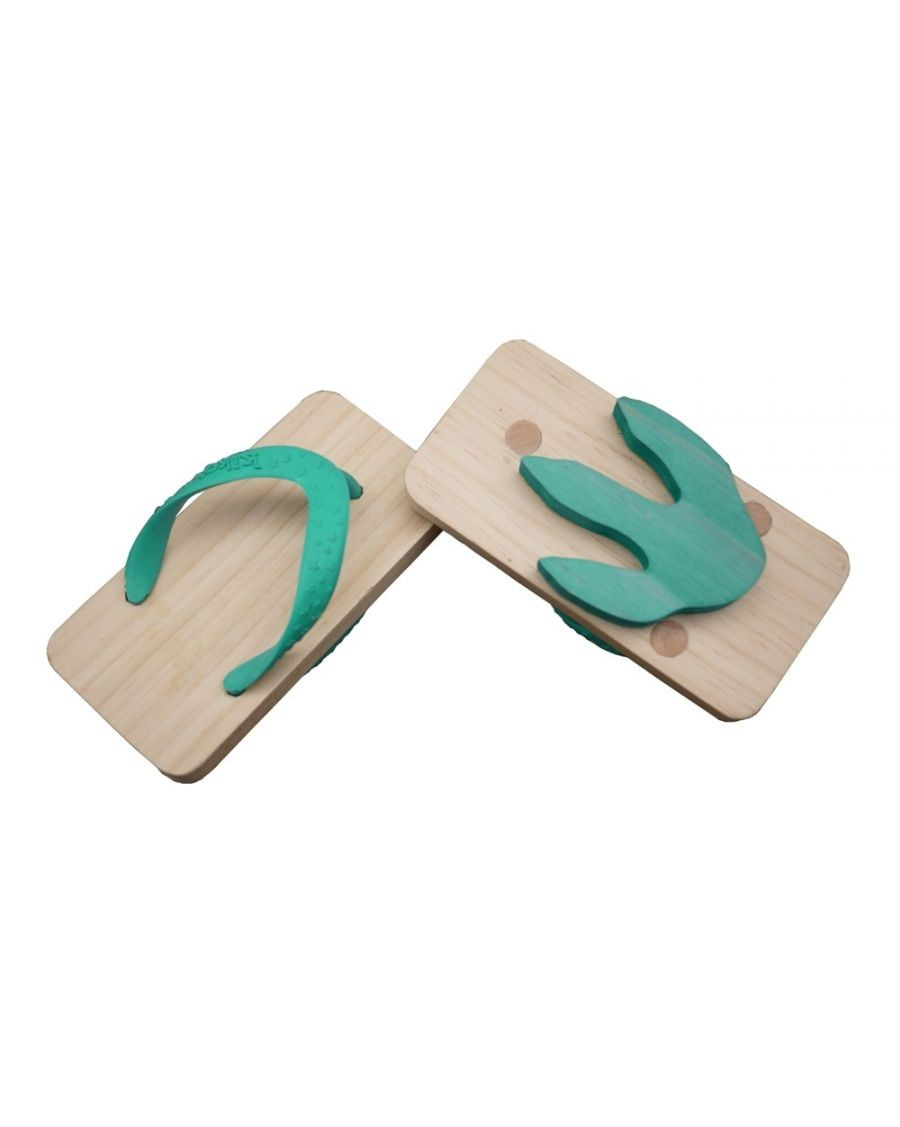 Green Animal Flipflop footprints - kukkia - Mylowonders