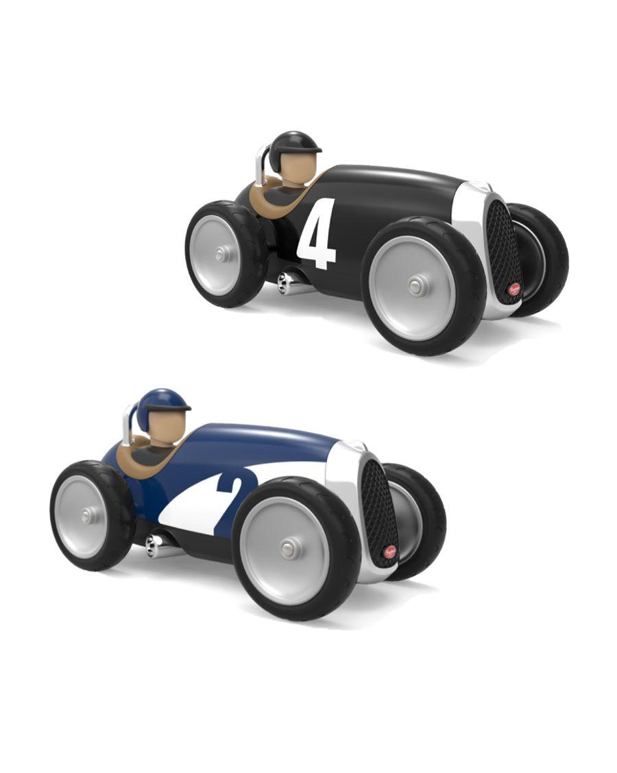 2 Racing Cars Noir et Bleu | Jouets | Baghera | MyloWonders