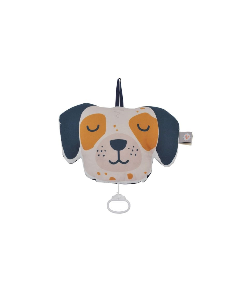 Musical cushion - Dog - carotte cie - MyloWonders