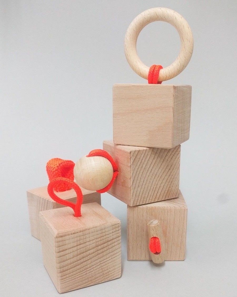 Cubes de construction éveil - andme - mylowonders