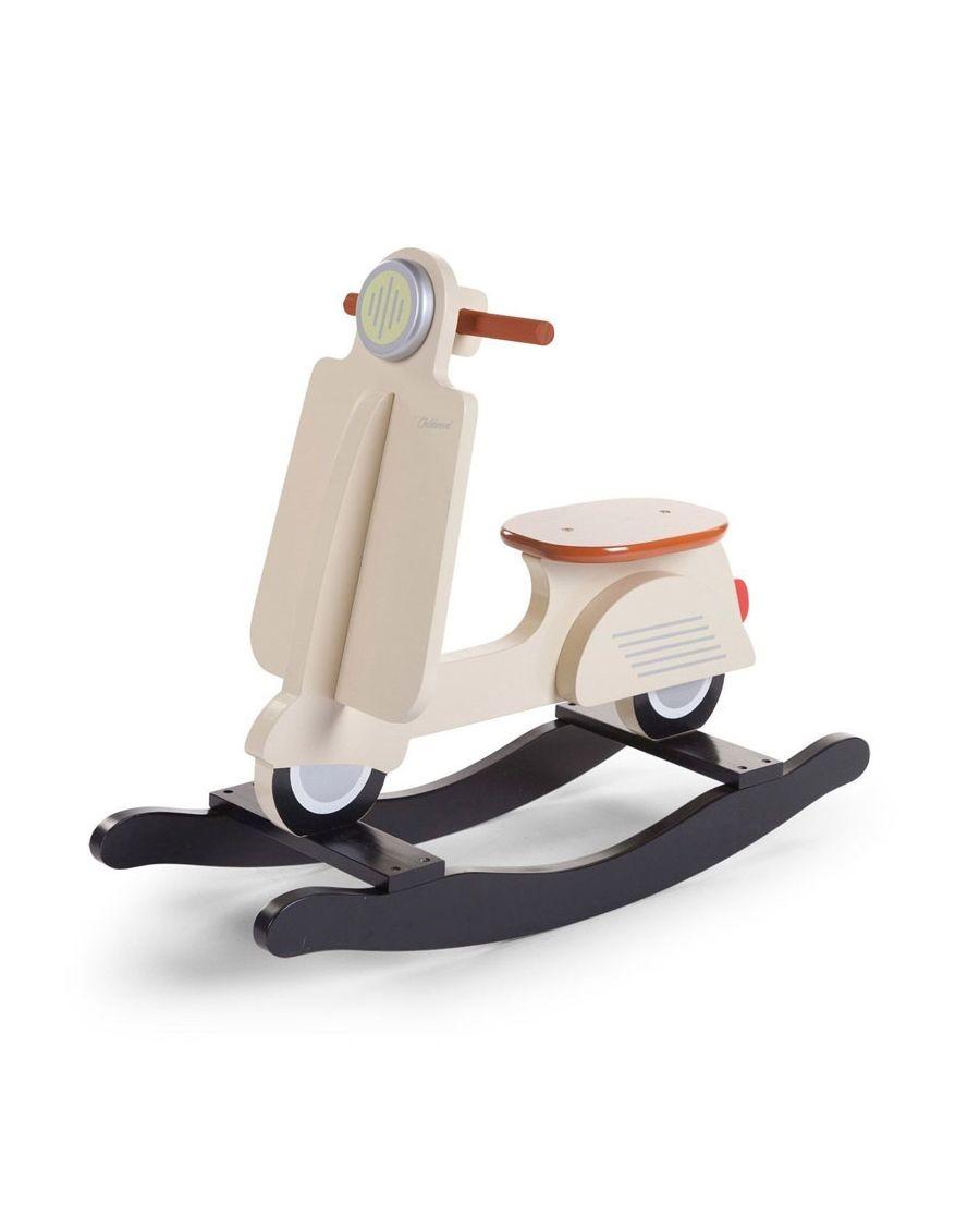 Scooter à bascule crème - Mylowonders