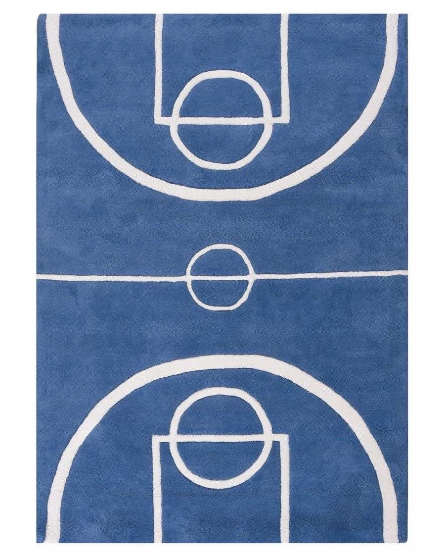 Basketball court rug - lilipinso - MyloWonders