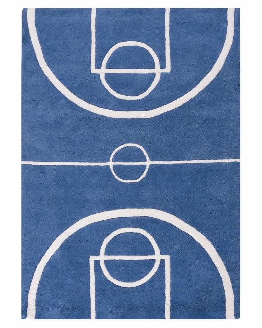 Tapis terrain de basket - lilipinso - MyloWonders