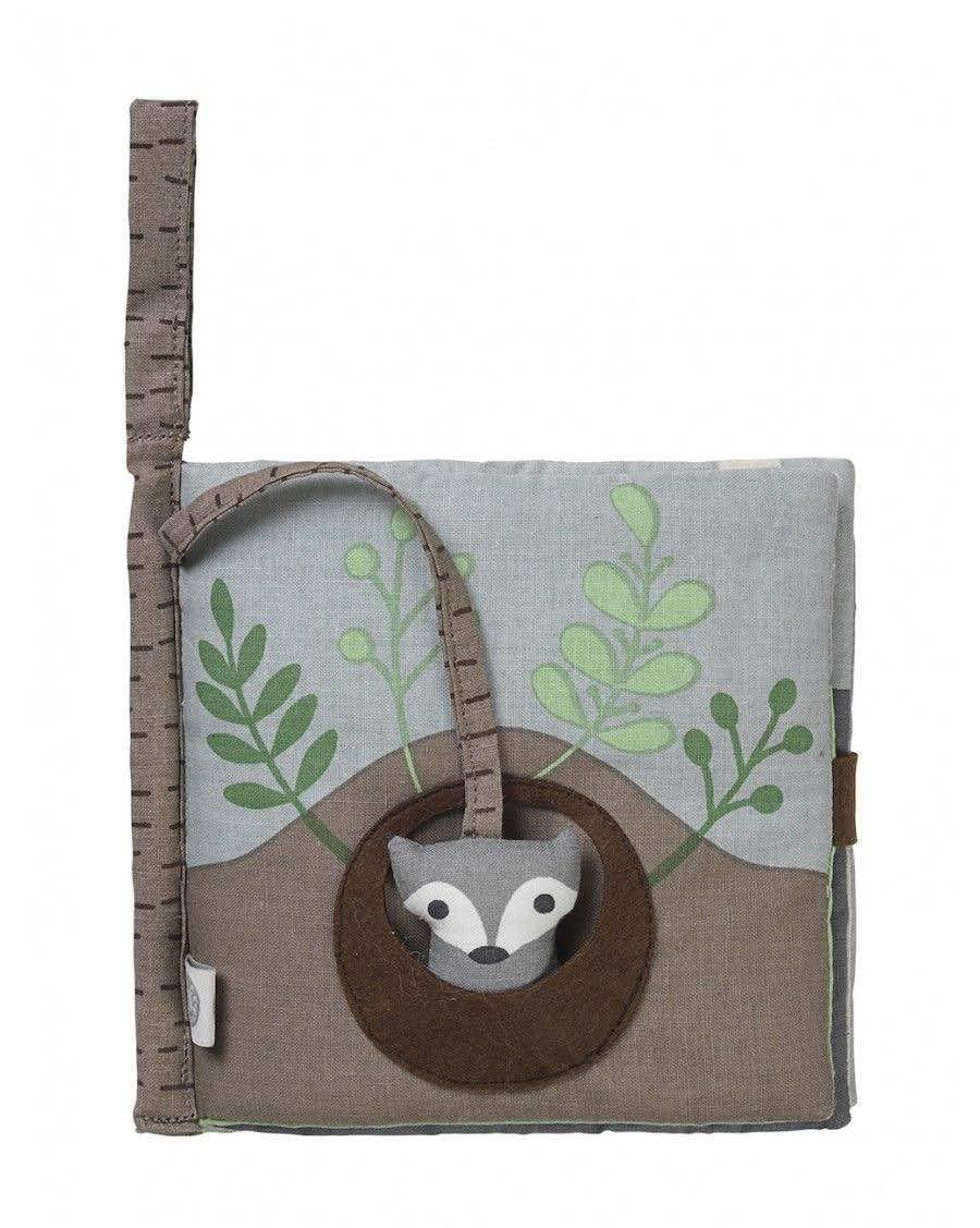 Organic fabric book Fox - Franck Fischer - Mylowonders