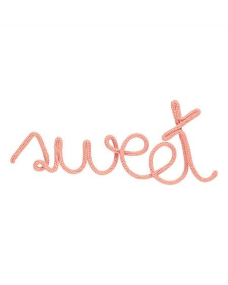 Sweet - Décoration murale en tricotin | Charlie & June | MyloWonders