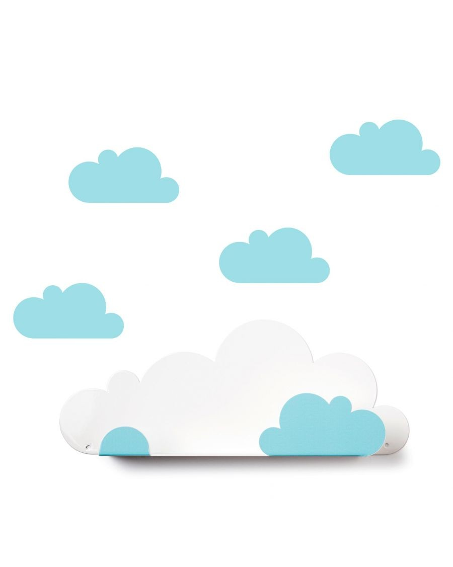 Shelf cloud & light blue cloud stickers - mylowonders