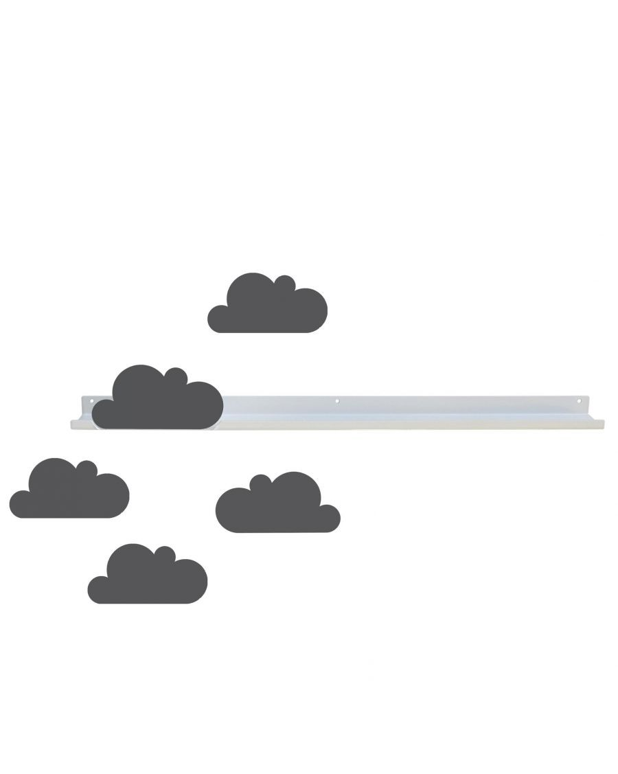 Long shelf & grey cloud stickers - mylowonders