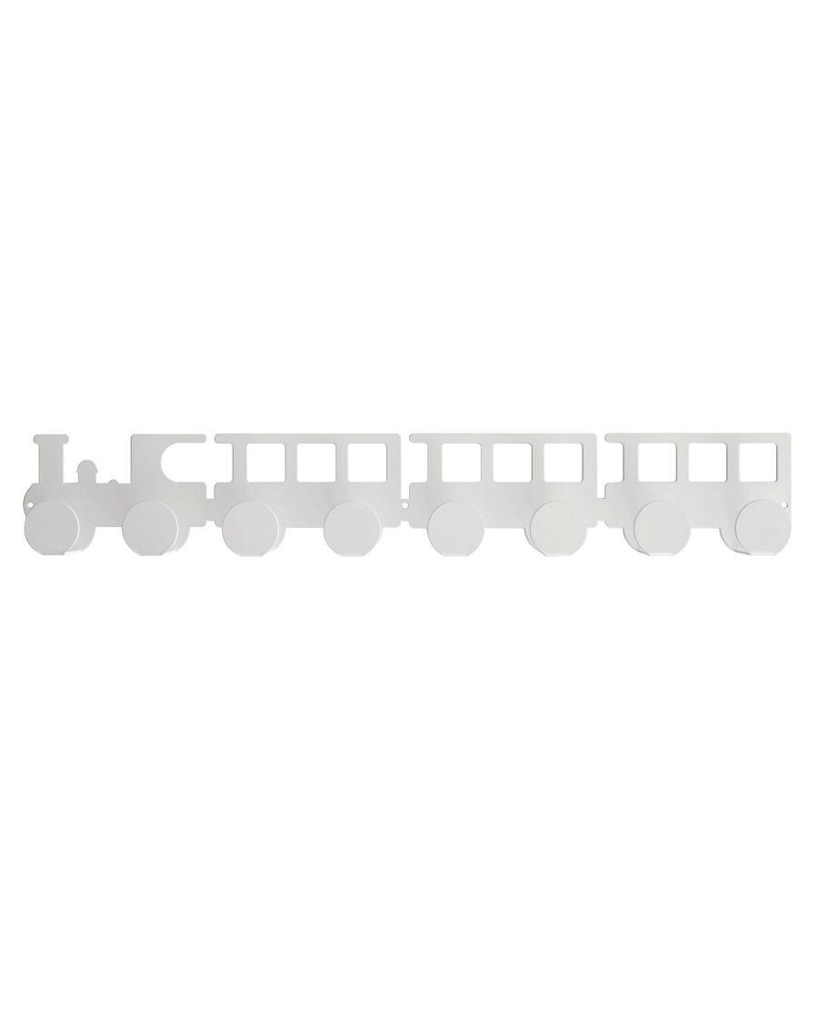 Portemanteau locomotive - Blanc - tresxics | Mylowonders