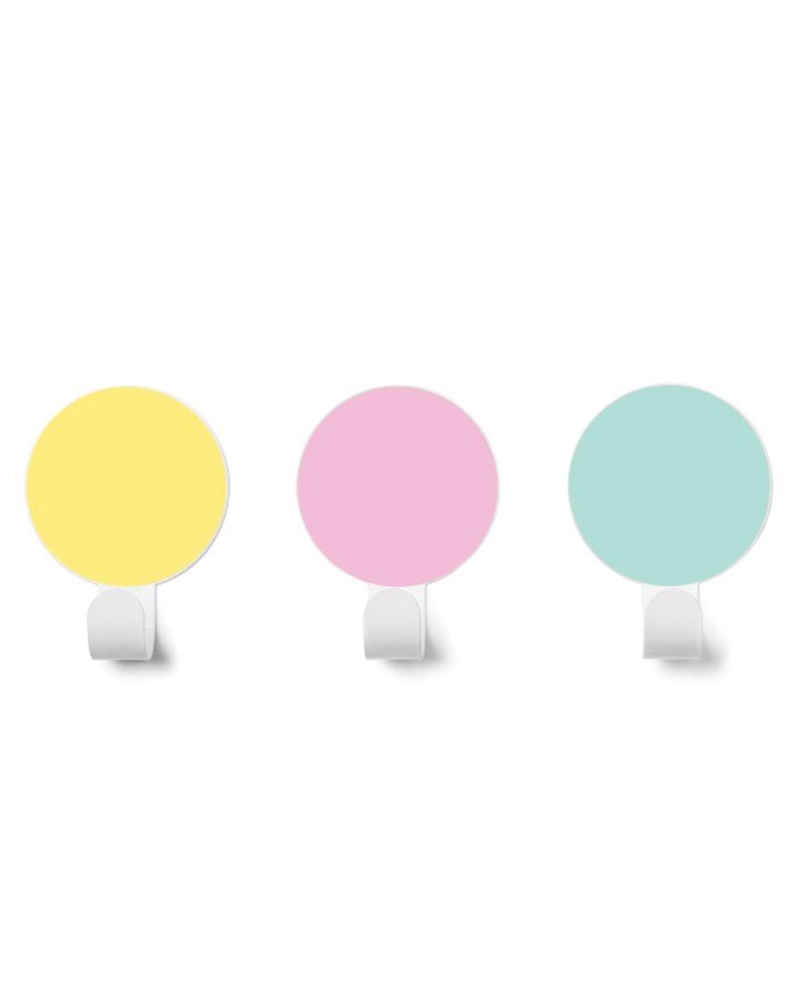 Patères - couleurs douces - tresxics | Mylowonders