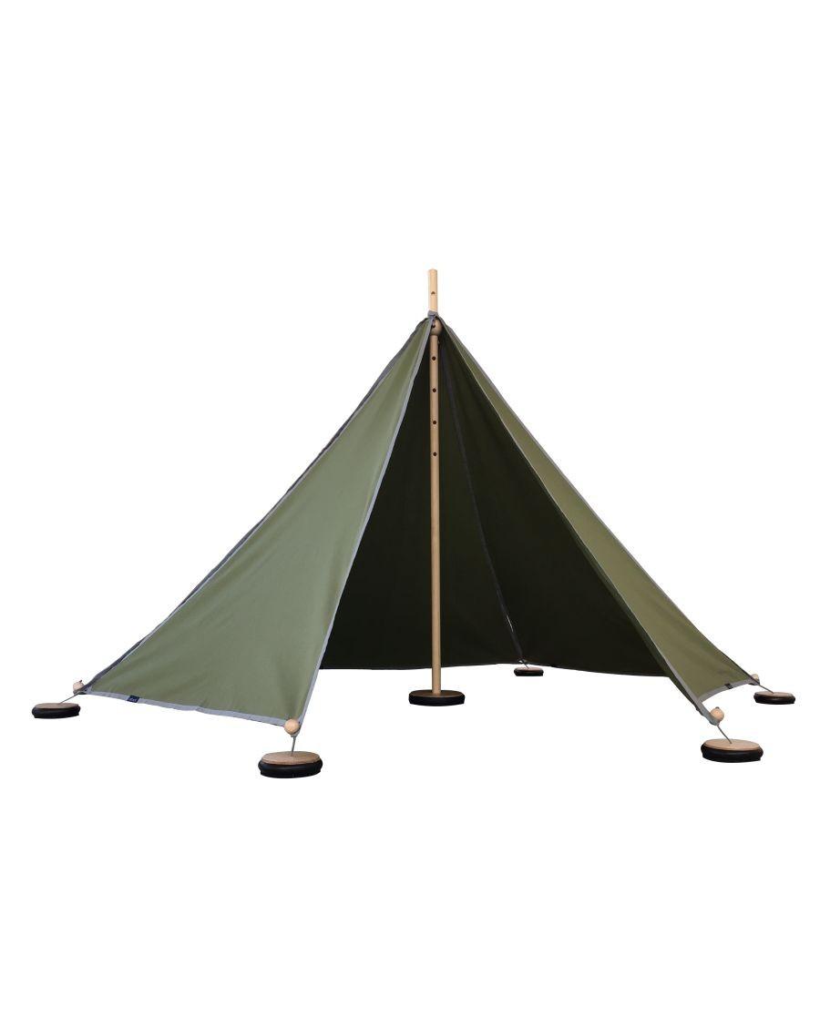 Tente modulable Vert kaki - Abel - MyloWonders