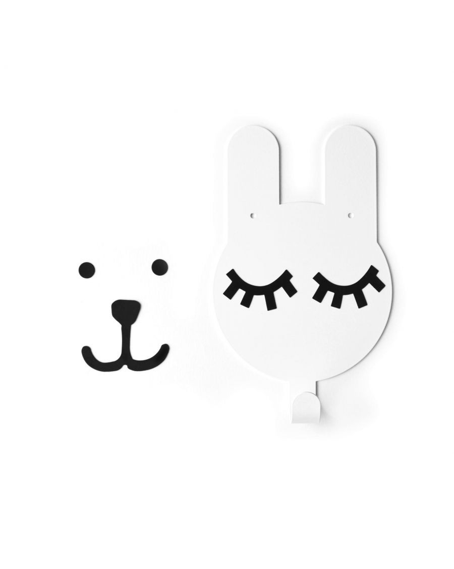 Rabbit wall hook - tresxics | Mylowonders