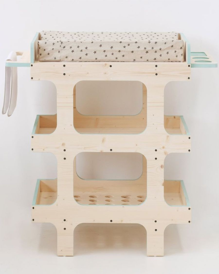 SCOUT changing table by XO in My room - MyloWonders