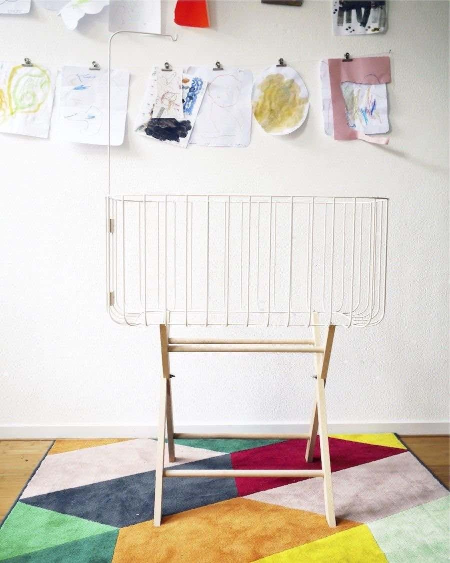 White baby crib - MyloWonders