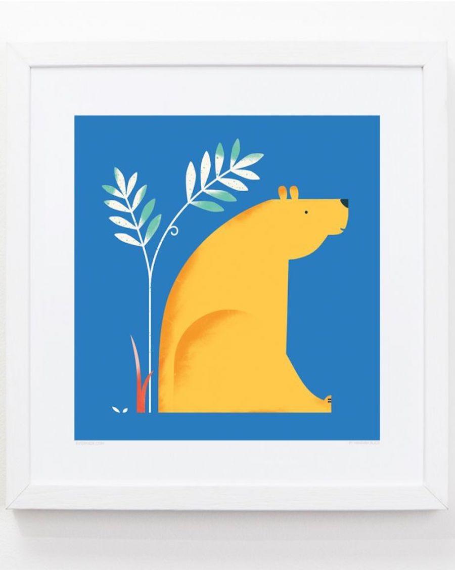 Bear Frame kids room evermade - mylowonders