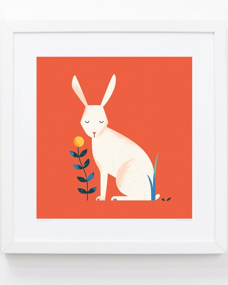 Rabbit Frame kids room evermade - mylowonders