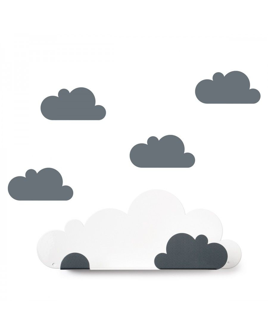 Shelf cloud & grey cloud stickers - tresxics - mylowonders
