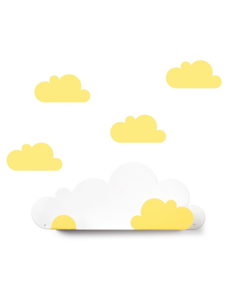 Shelf cloud & yellow cloud stickers - tresxics - mylowonders